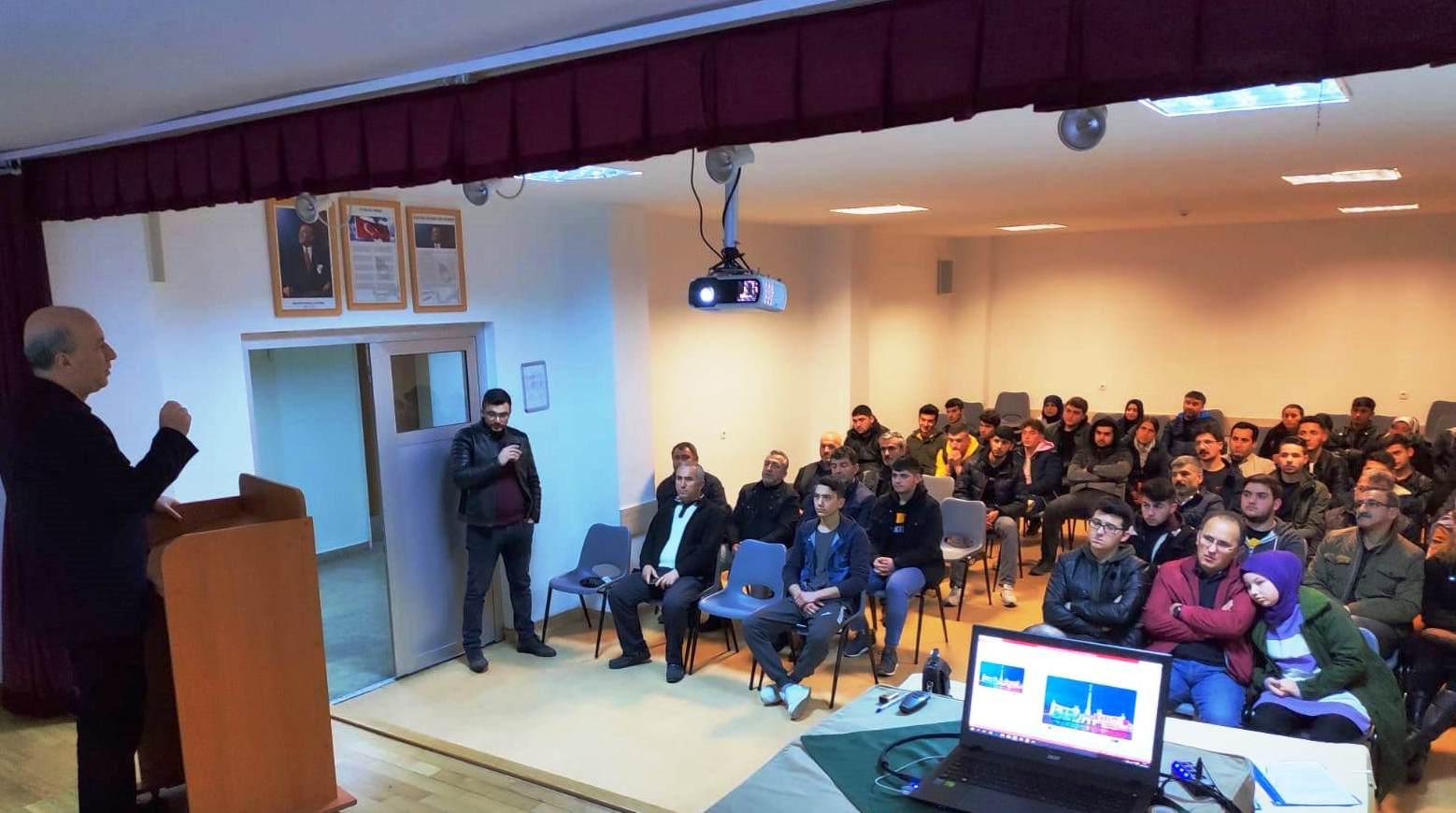 AB projemizde hareketlilik öncesi veli-öğrenci toplantısı