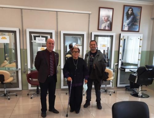 Yelkikanat Vakıf Başkanı Hayırsever Handan Yelkikanat'ın Ziyareti