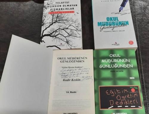 Eğitimci-Yazar-Makale-Şiir-Seminer-Kitap-Toplantı; KADİR KESKİN